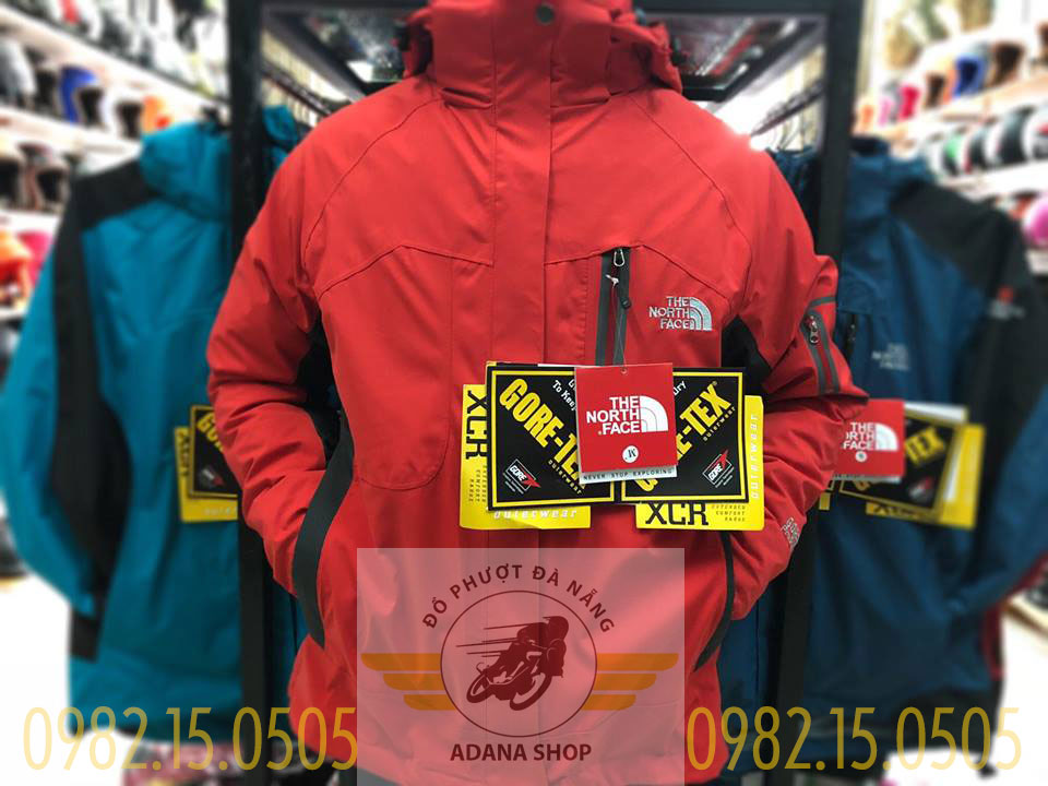 Áo The North Face 5 In 1 Đỏ Tươi