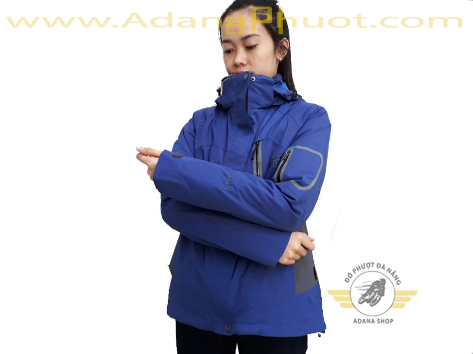 Áo The North Face 5 in 1 Xanh Đậm