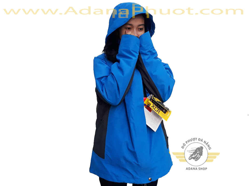 Áo The North Face 5 In 1 Xanh Da Trời